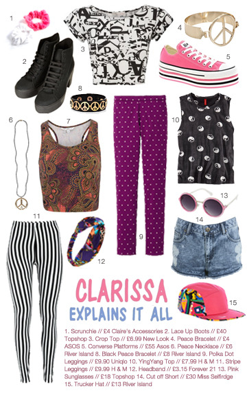 Clarissa Explains It All inspired High Street Picks for you (sorry it's been a while)