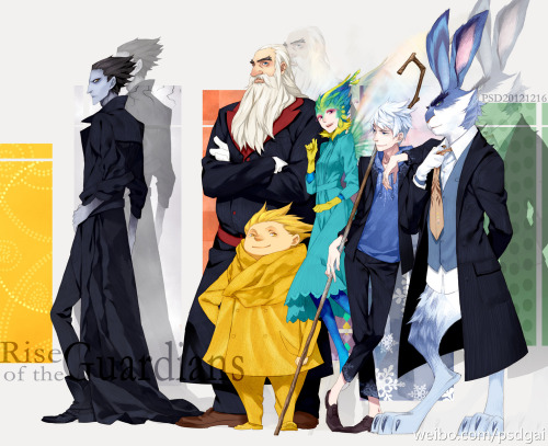iedencherry:  Rise of the Guardians - Modern Family  by PSD