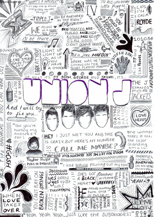 Union J doodles :)