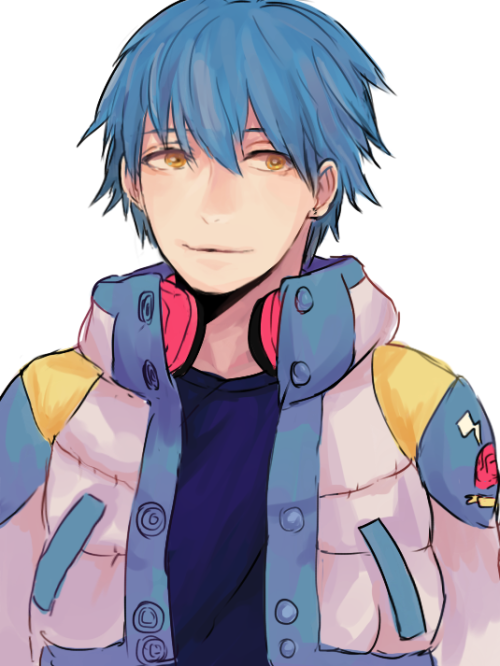 tetsuyaa:  i finished koujaku's route… aoba with short hair was just so…. sigh