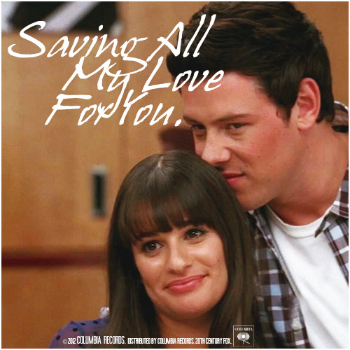3x17 Dance With Somebody | Saving All My Love For You Alternative Cover 'The Faithfully Finchel Collection'