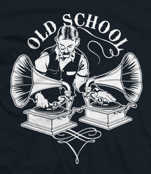 6dollarshirts:  OLD TIMEY SCHOOL, now available at 6 Dollar Shirts!