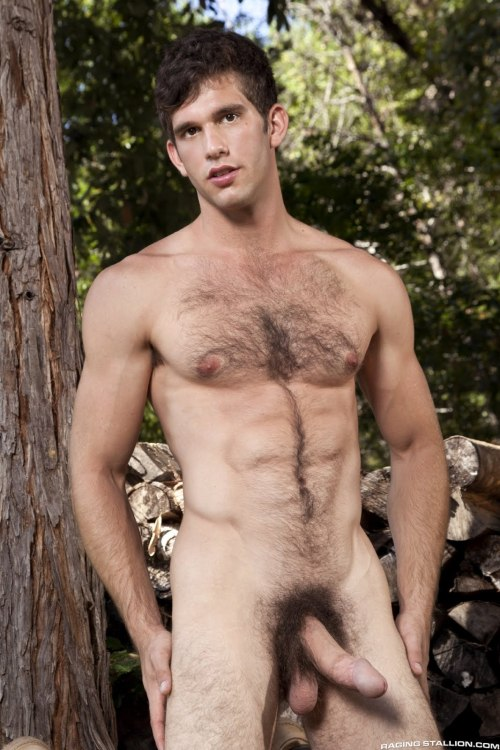 Nice hot fuzzy hunk..great treasure trail and check out his low hangers..