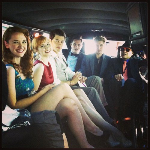 In the limo! @streamys @thelbdofficial