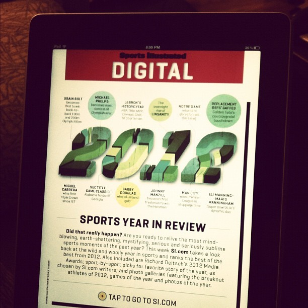 An infographic I did for the 12/24 Sports Illustrated issue!