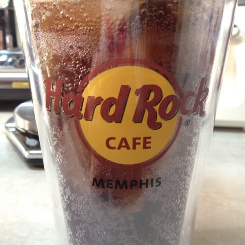 Best way to start another #HOT #MEMPHIS day. #cokezero and then #icedcoffee #stillnoairconditioning at home