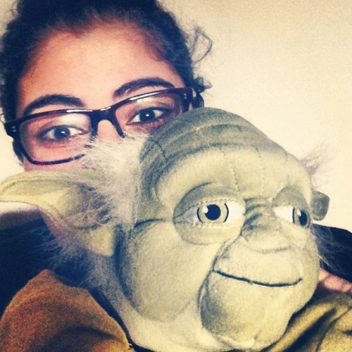My #beauty and my #beast. @nnucifera and #yoda are so #adorable #bb #sweet #awww