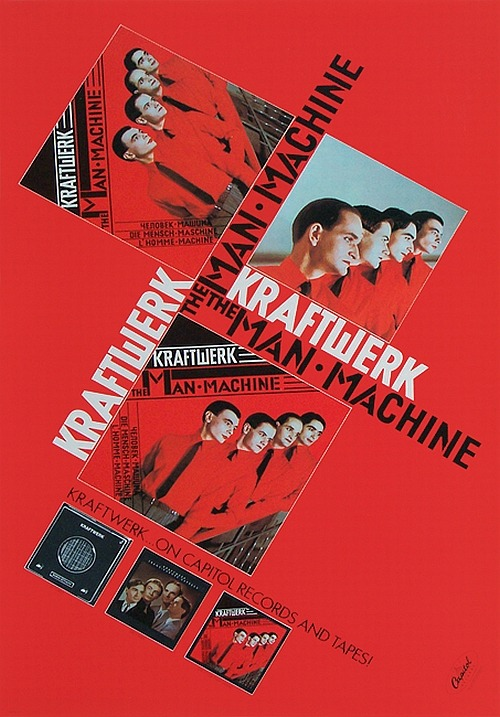 KRAFTWERK - THE MAN-MACHINE, 1978.