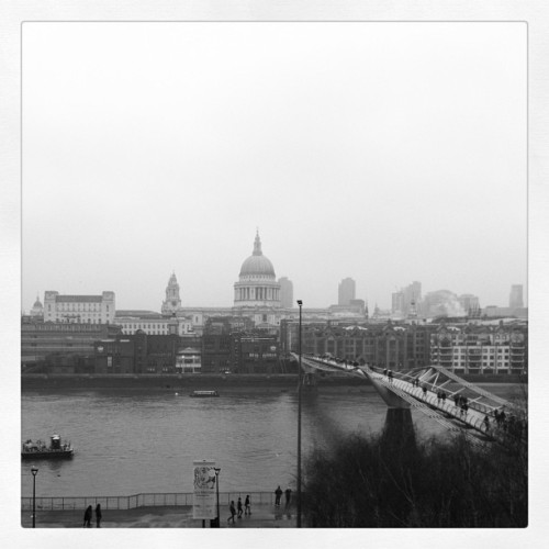 Im in #London  (her: Tate Modern)