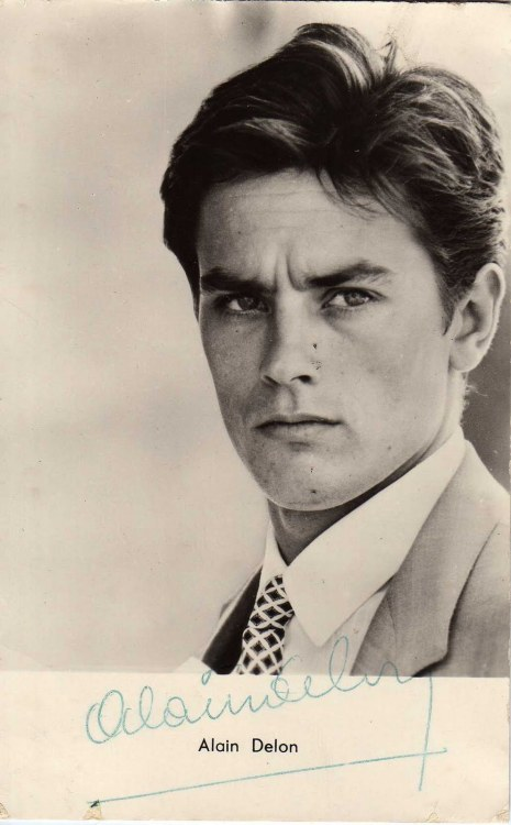 Young Alain Delon
