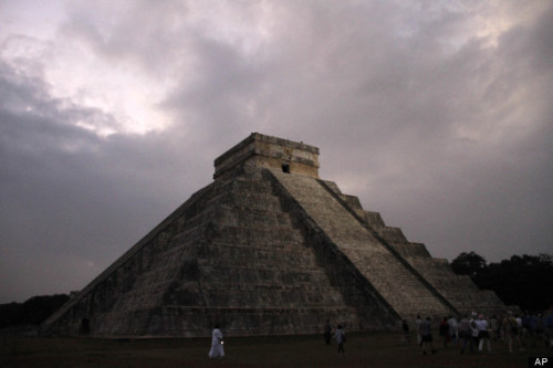Christmas Eve To Mark The End Of The World? Mayan Apocalypse Now Scheduled For December 24 Yep, better open those presents early, for German researcher Nikoali Grube tells Spiegel Online that matching up modern calendars with Mayan predictions is not an exact science.  Grube, who is an expert on the interpretation of Mayan artefacts, says the end of the calendar's 14th baktun may not actually be until December 24.  Full article in The Huffington Post UK.