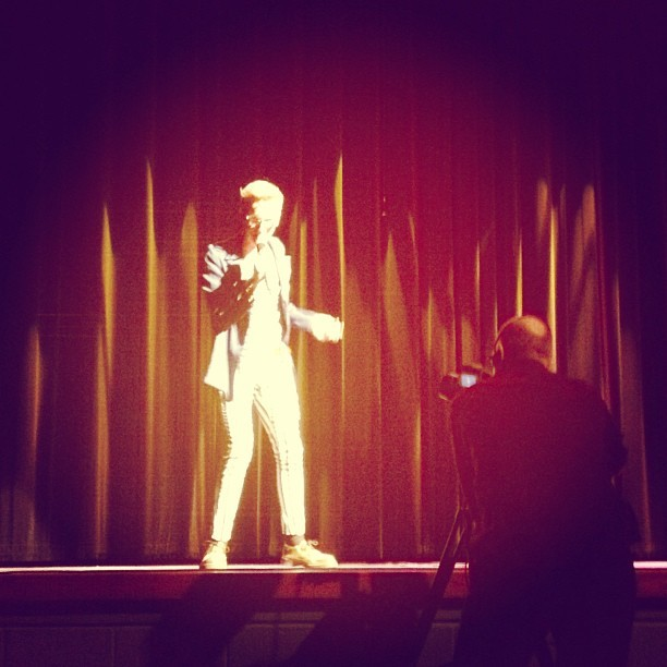 March Photo Challenge Day 27: Talent - Performing. This was so much fun! 🎶🎶🎶 #gilavalleyidol #singing #performing