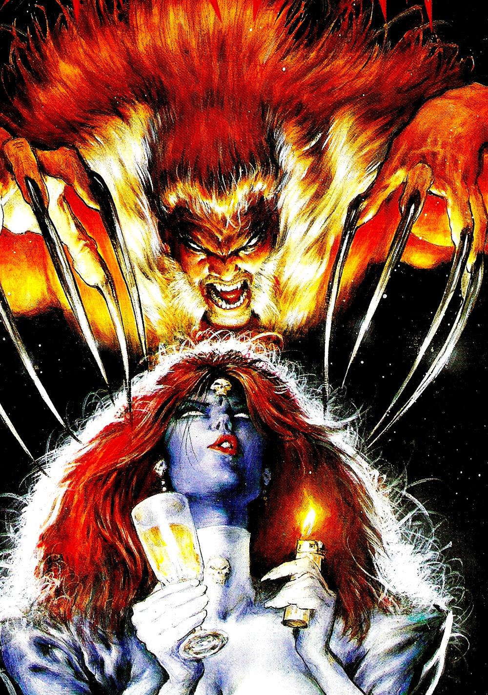 Mark Texeira - Sabretooth and Mystique