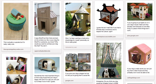 New PubLIZity Pinterest Board: DO Have a Dog House
