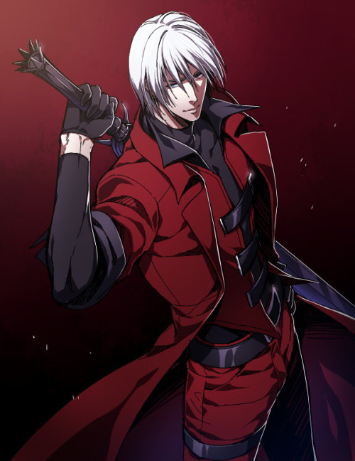 aliothfr:  Dante, Devil May Cry