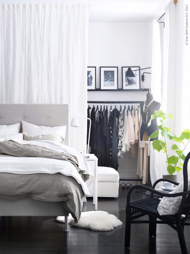 guawa:  justthedesign:  Grey Bedroom Design Ideas From Ikea  q'd