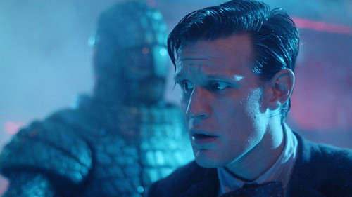 BBC Doctor Who Blog - The Return of the Ice Warriors! The BBC Doctor Who Blog has an excellent write up to prepare you for this weekend's episode, Cold War:   The Doctor's next adventure is called Cold War and it explodes onto screens tomorrow (Saturday). The TARDIS lands on a damaged Russian Submarine in 1983 as it spirals out of control, plunging into the ocean depths. An alien creature is loose on board, having escaped from a block of Arctic ice. With tempers flaring and a cargo of nuclear weapons on board, it's not just the crew but the whole of humanity at stake!  The episode is written by Mark Gatiss (The Unquiet Dead, Night Terrors) so we're assured of scares, great moments of humour and some unexpected twists… All that, plus the return of the Ice Warriors makes this an umissable episode! The fearsome Martians made their debut in the Second Doctor adventure The Ice Warriors and were an instant hit, returning about a year later in The Seeds of Death. These two stories established the Ice Warriors as a proud but cruel race, ruthless and relentless when pursuing their goal, which in both instances had been the planet Earth. But interestingly, when they next crossed the Time Lord's path in the Third Doctor adventure The Curse of Peladon, they had reformed, renouncing their militaristic ways and eschewing violence except in cases of self-defence. The Ice Warriors' code of honour came to the fore and they even joined forces with their former foe. Their final appearance to date came in 1974's The Monster of Peladon in which a rogue faction of Ice Warriors threatened the Doctor.   Read the rest at the BBC Doctor Who Blog.