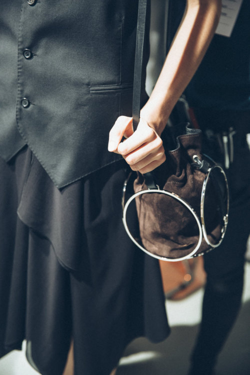 lurvemag:         BACKSTAGE MFW S/S 2015 COSTUME NATIONAL Photos by Tomaso Lisca for LURVE Magazine.