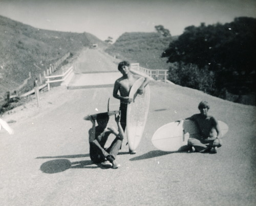 1000savagecomforts:  My Dad on the right with his Webber Ski.
