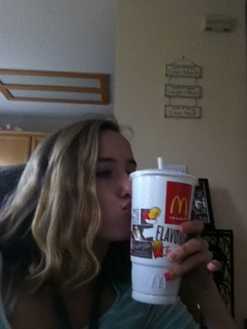 McDonalds and me=soulmates💗❤
