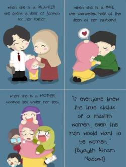 besharamona:  Heyy! Muslimah..  Look this picture, like & Share.Do you know ?You so beautifull, just the way you are.
