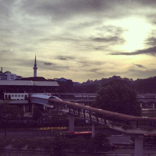 #KualaLumpur #Train #station #latergram