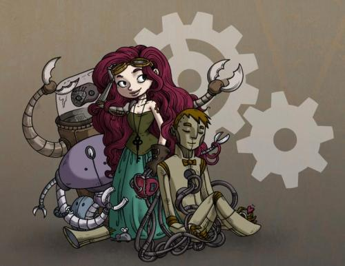 secondlina:  A bit of color and now we are steampunking with power.  Adorabuhls!
