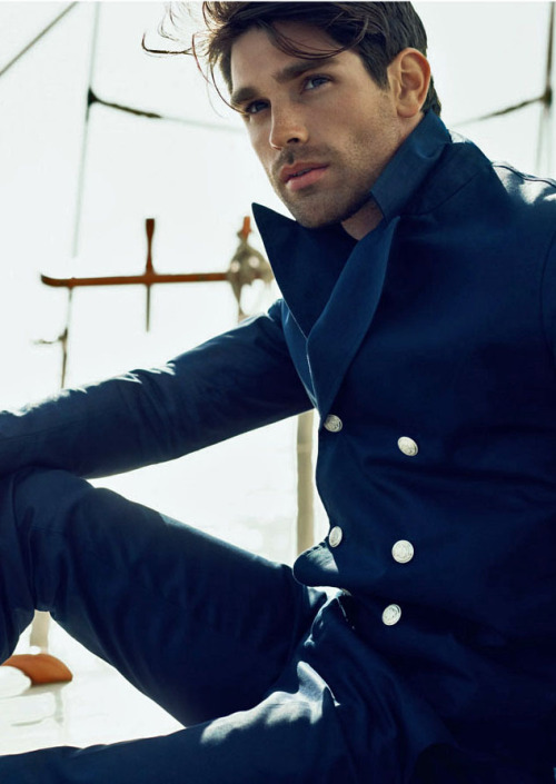 bogosse:  Justin Gaston by Dean Isidro for TETU Magazine