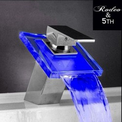 #dope #led #faucet #sensitive #rodeo #5thave #bathroom #gadget