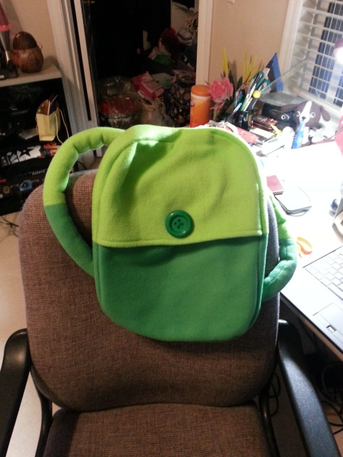 Backpack done! Need to make one more… Tutorial from thestylishgeek