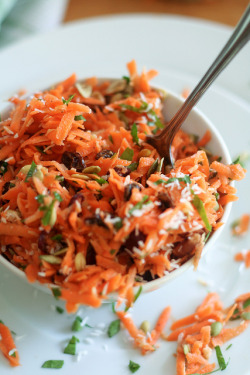Carrot Salad-8 by Sonia! The Healthy Foodie on Flickr.