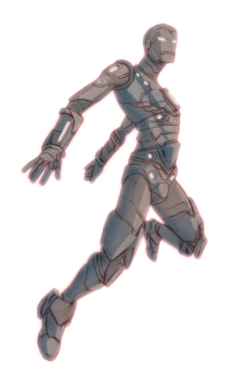 an IronMan I drew a while back