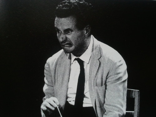 Let me just post this again. Sir Colin Davis, photographed by Laelia Goehr.