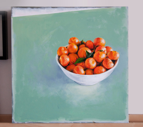 Tangerines - Acrylic on canvas