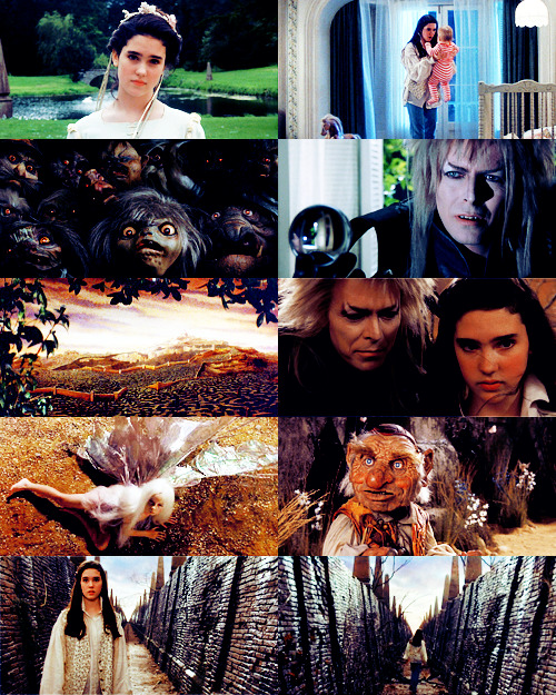"vintagegal:  Labyrinth (1986) ""Through dangers untold and hardships unnumbered, I have fought my way here to the castle beyond the Goblin City to take back the child you have stolen, for my will is as strong as yours and my kingdom as great. You have no power over me!"