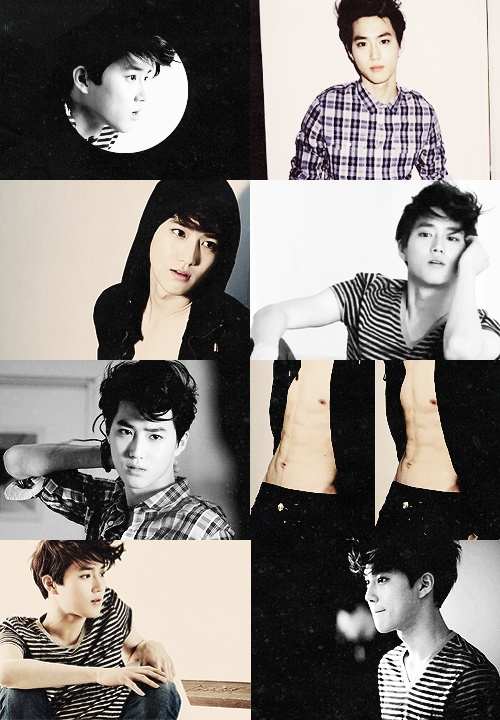little suho things to remember before his 23rd birthday ❤; high cut ((more like hnnnng cut))