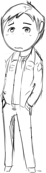 I'm way too tired to fully line this tiny James Sunderland