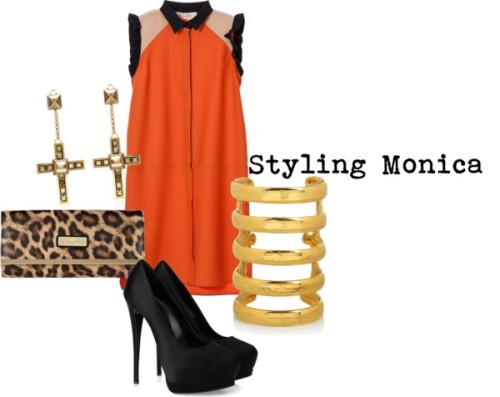 Untitled #620 by stylingmonica featuring platform pumps