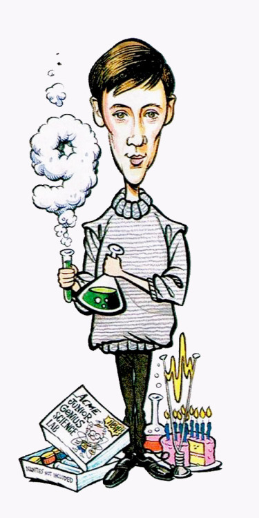 10th anniversary cast caricatures  ↳ as seen in Starlog Magazine (x)