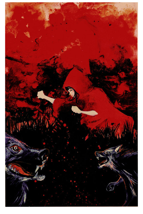 reversingmirror:    Red Riding Hood 2 by ~afromation