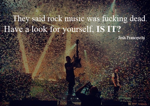 "Josh Franceschi quote from ""The Final Night Of Sin"""