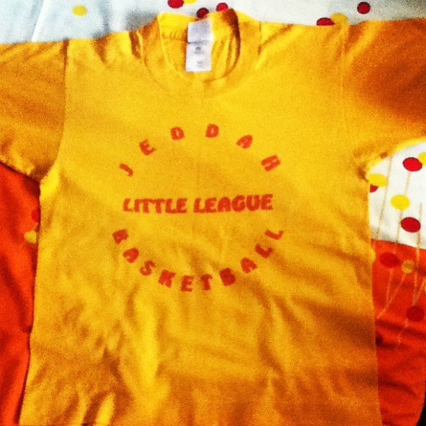 #throwback #littleleague #basketball #jeddah