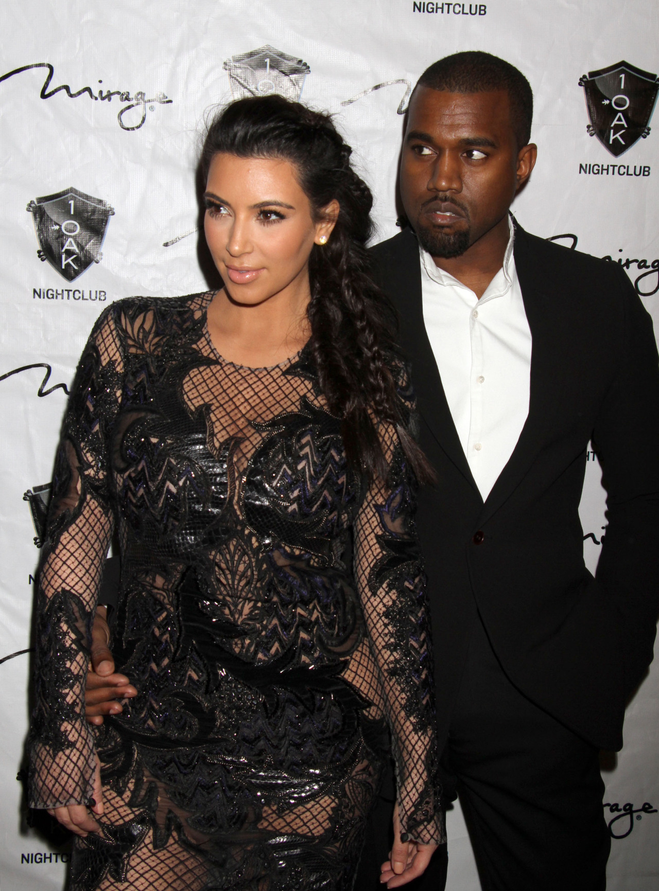 KimYe spent their NYE in Las Vegas.