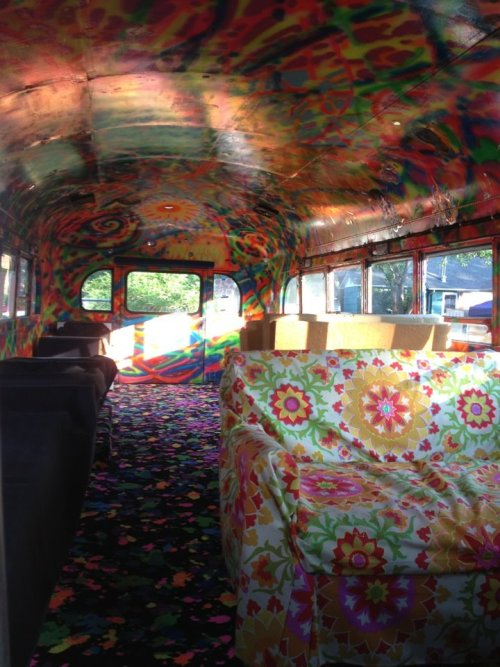 art trippy beautiful hippie drugs psychedelic colors travel chill hippies bus hippie bus