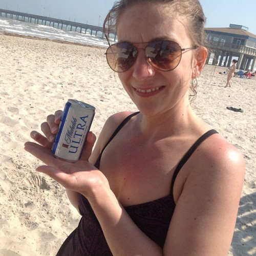 Fun size!  (at Barnacle Bill's Pier-House & Grill)