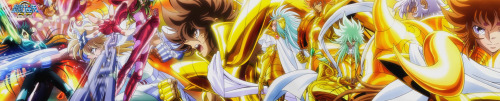 Saint Seiya Omega - Gold & Legend Saints.
