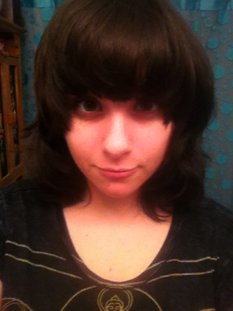 i got my bangs cut c: