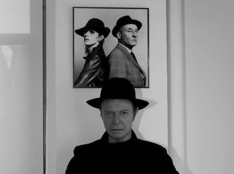 Metabowie's here: http://flavorwire.com/376749/the-next-day-meet-david-bowies-final-incarnation-meta-bowie