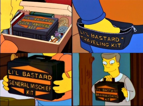 the-simpsons-blog:  Compilation of the featured Lil Bastard products  moar simpsons