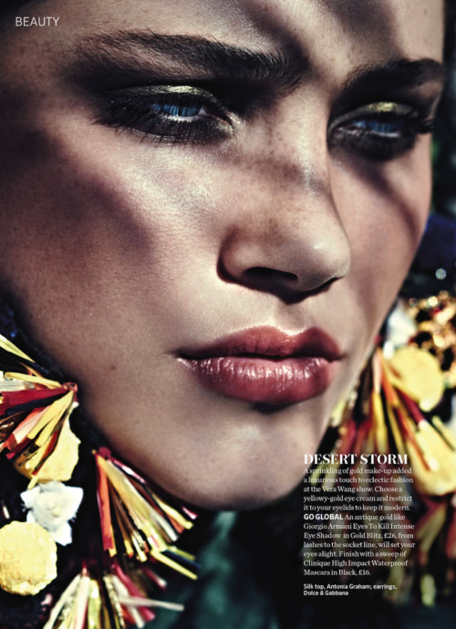 classicmodels:  Anna Speckhart By Jason Hetherington For Marie Claire UK June 2013
